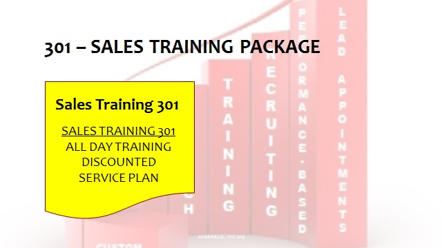 301 Sales Training Package