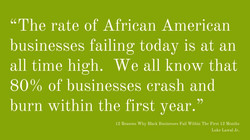 Reasons Why Black Businesses Fail
