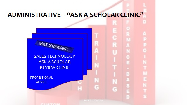 Administrative Ask A Scholar Clinic