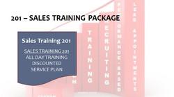 201 Sales Training Package