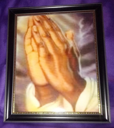 Pastor's Praying Hands By JT Art Gallery