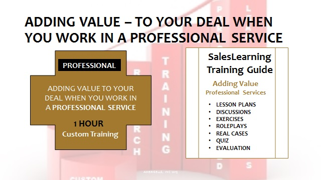 Adding Value Professional Services