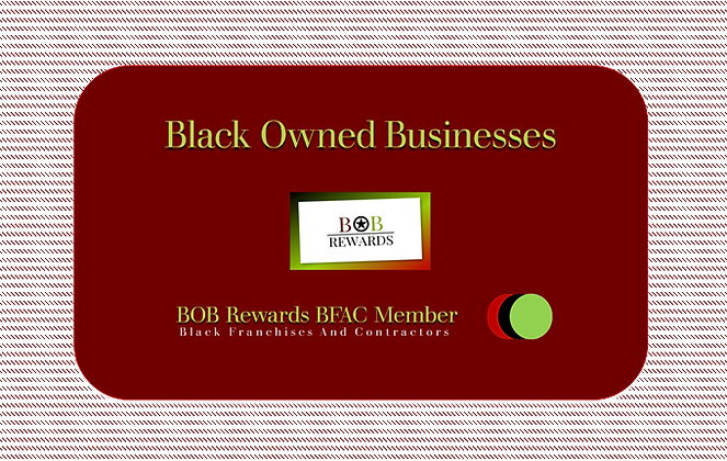Black Franchise And Contractor's Membership Card
