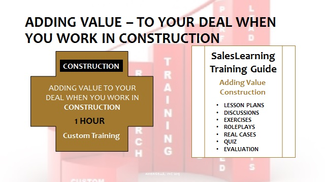 Adding Value Construction