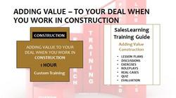 Adding Value Construction
