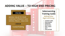 Adding Value Company Products and Services