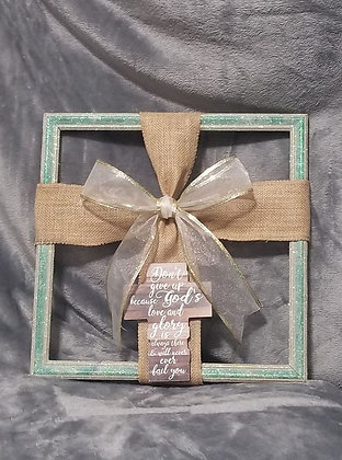 Krafty & Creative Natural Picture Frame Inspired By God