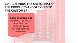 401 Defining The Sales Price