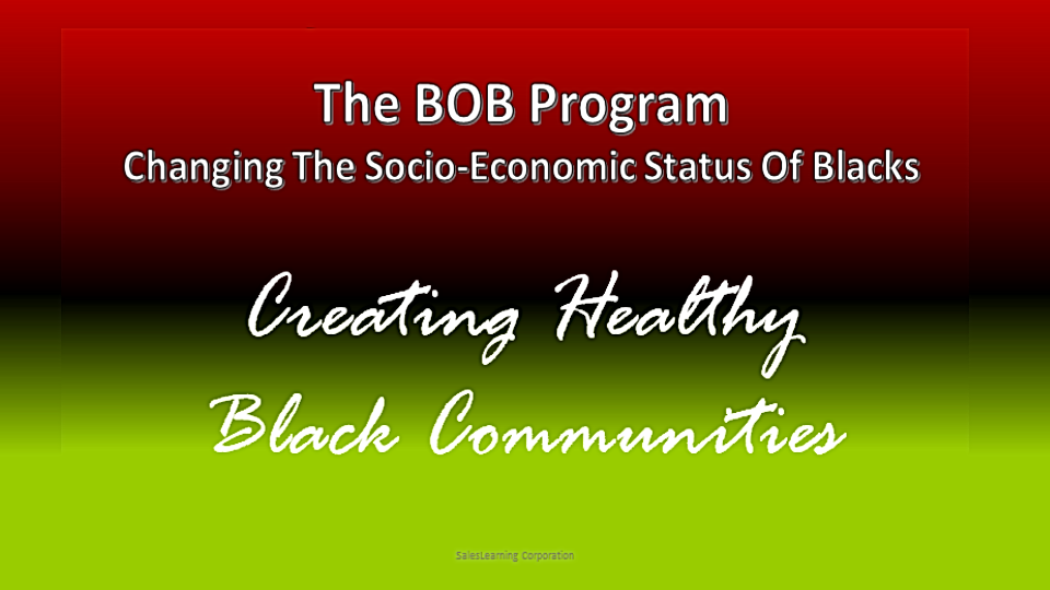 Creating Healty Black Communities