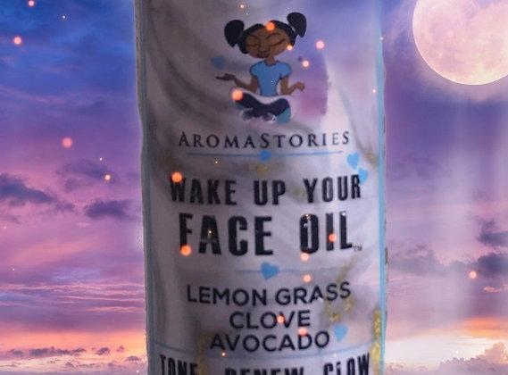 Aroma Stories Wake Up Your Face Oil Lemon-Grass Clove Avocado