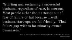 Erasing Black Businesses