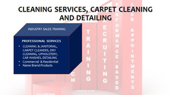 Cleaning Services, Carpet Cleaning and Detailing