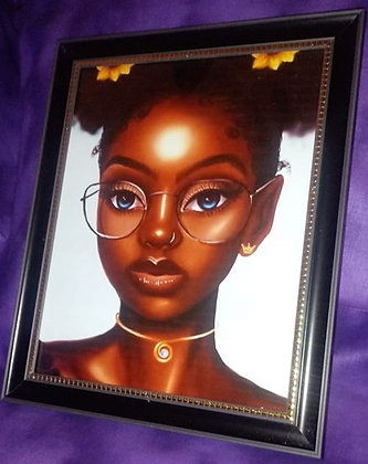 Young Black Intelligence By JT Art Gallery