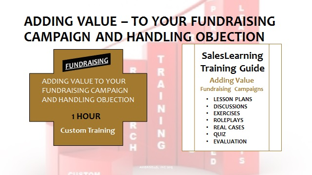 Adding Value Fundraising Campaigns