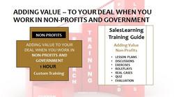 Adding Value Non-Profits and Government