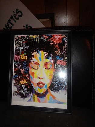 Black Woman Expressions By JT Art Gallery