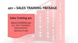 401 Sales Training Package