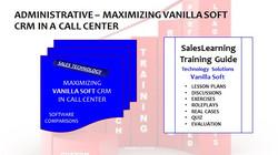 Administrative Maximizing Vanilla Soft