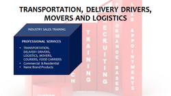 Transportation Delivery Drivers Movers and Logistics