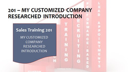 201 My Customized Company Researched Introduction