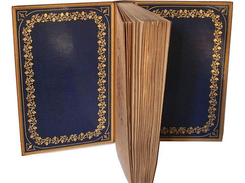 L'Ombrelle d'Octave Uzanne (1883). Exemplaire sur Japon en maroquin doublé