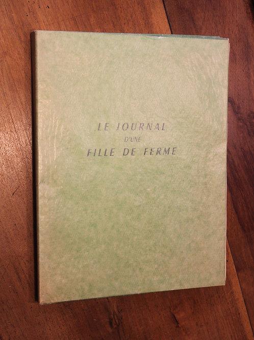 Le Journal d'une Fille de Ferme (vers 1952). Roman pornographique illustré
