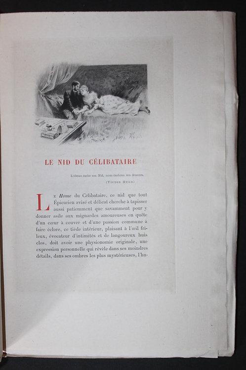 Le Paroissien du Célibataire d'Octave Uzanne (1890). Exemplaire sur Chine