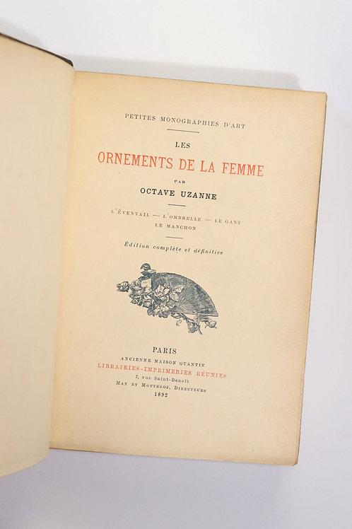 Les Ornements de la Femme par Octave Uzanne (1892). 1 des 10 sur Japon
