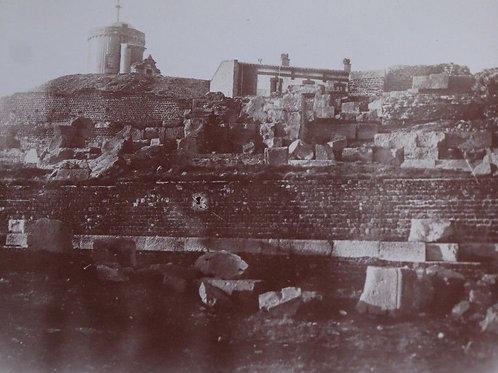 Photographie ancienne 1899 Puy-de-Dôme Temple de Mercure Gallo-Romain