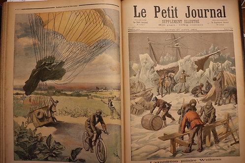 1894 Le Petit Journal Supplément illustré couleurs Année complète N°163-215