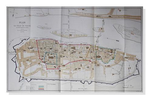 Histoire de la Ville de Tours par le Docteur E. Giraudet (1873)