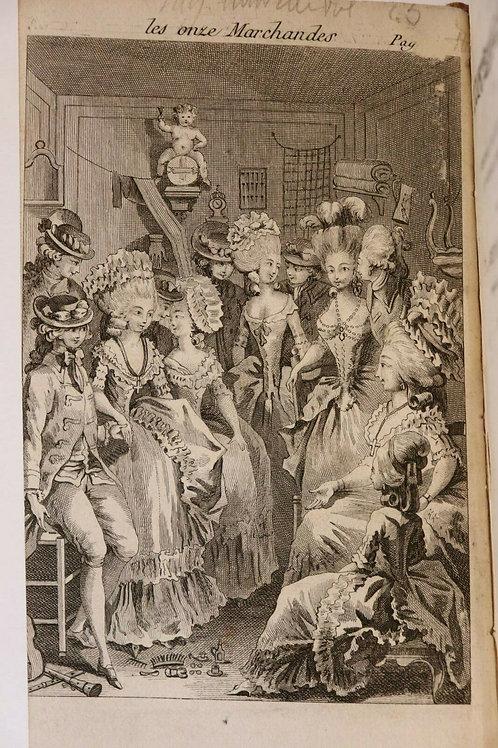 1787 (1825) Rétif de la Bretonne Restif Bretone Les Contemporaines XXIIIe vol.