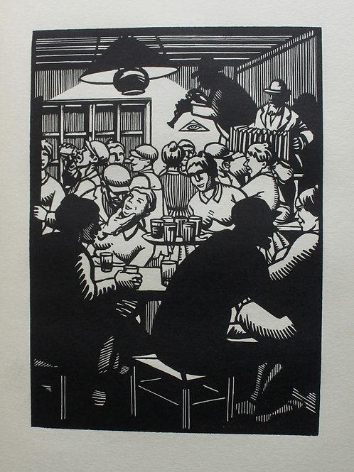 Quinze Poèmes d'Emile Verhaeren illustrés par Frans Masereel (1917)