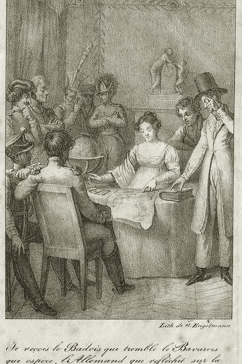 Mademoiselle Lenormand. Divination et Cartomancie (1814-1819). Prophétesse