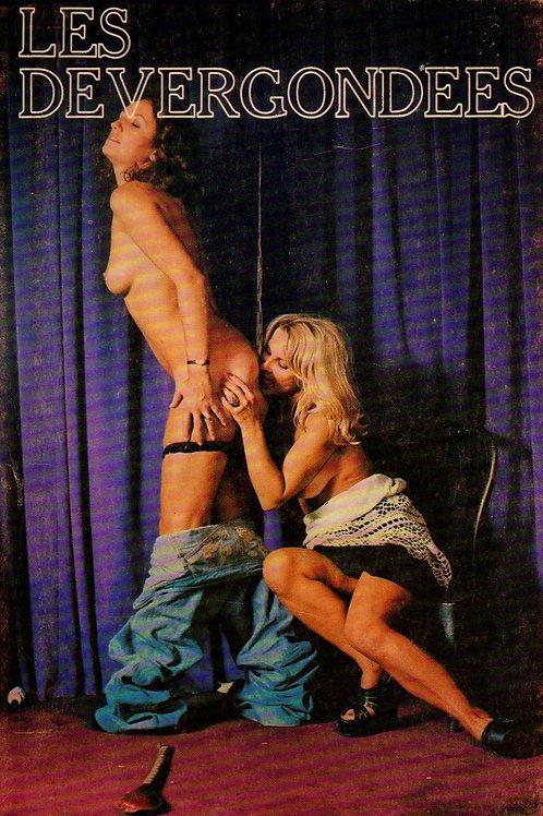 Les Dévergondées (1975). Roman pornographique. Belle cover photo