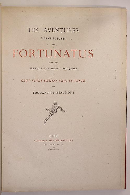Les Aventures Merveilleuses de Fortunatus (1887). Ex. sur Chine. Dédicace