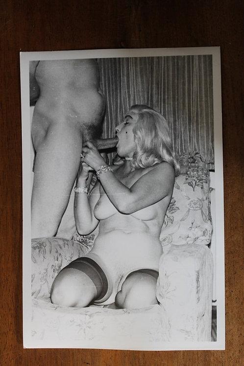 Photographie Amateur Vintage X (vers 1960-1965). Blondie ...