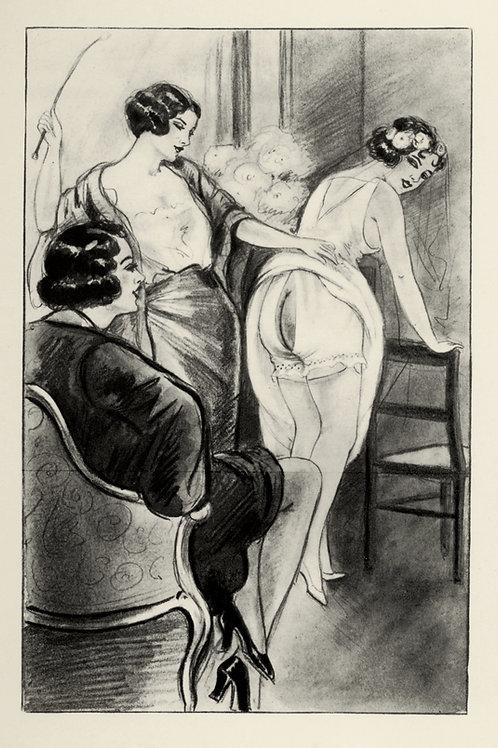 Claqueret. Humiliations Chéries. 1936. 16 héliogravures par Léon Courbouleix