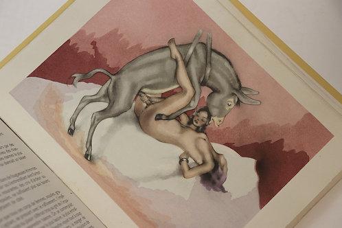 Alfred de Musset. Gamiani. Vers 1950. Belle édition clandestine illustrée. 1/274