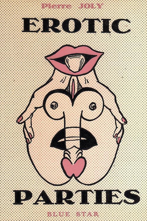 Erotic Parties (1986). Roman pornographique vintage. Belle couverture