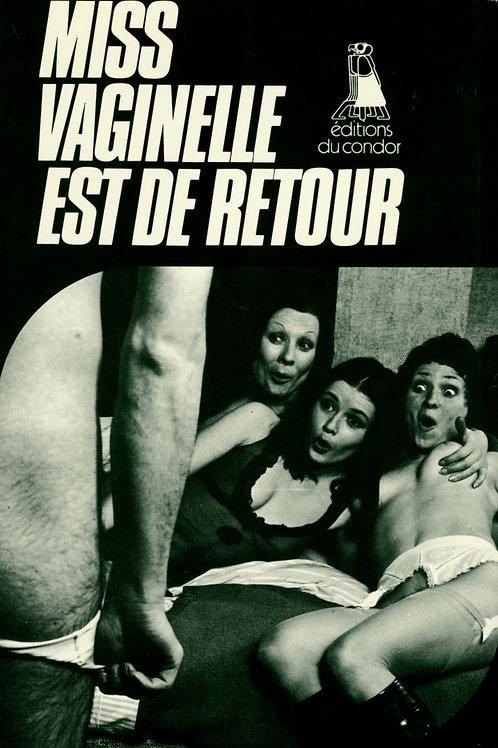 Miss Vaginelle est de retour (1972). Roman-photos érotique BDSM (fessée)