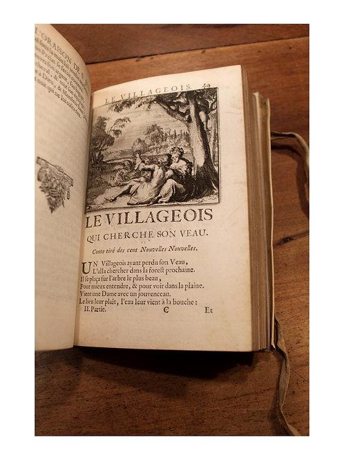Les Contes et Nouvelles de La Fontaine (1685). Premier tirage