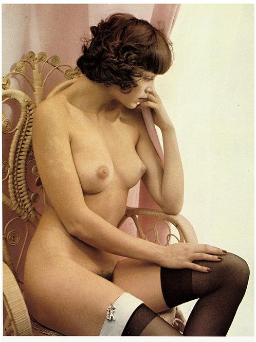 1974. Vintage color print. Impression quadri offset sur papier couché. Ref. 004