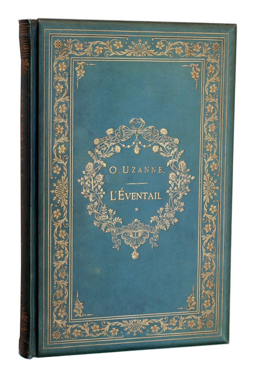 L'Eventail d'Octave Uzanne (1882). Superbe reliure anglais signée Birdsall