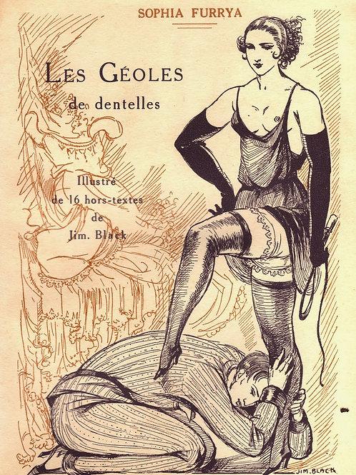 Les Geôles de Dentelles. 16 illustrations de Luc Lafnet (1933)