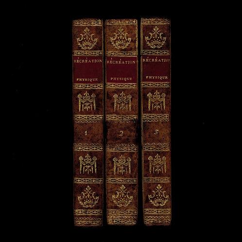 Guyot. Récréations physiques et mathématiques (an VII - 1799). Bel exemplaire
