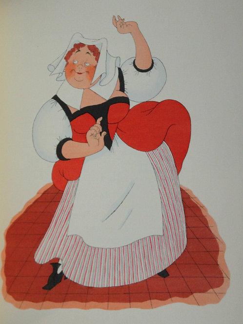 1954 Les femmes savantes Molière illustré Dubout 1/500 vergé avec suite