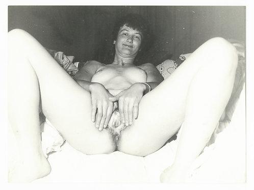 Photographie Amateur Vintage Nu féminin vers 1965. Ref. 980