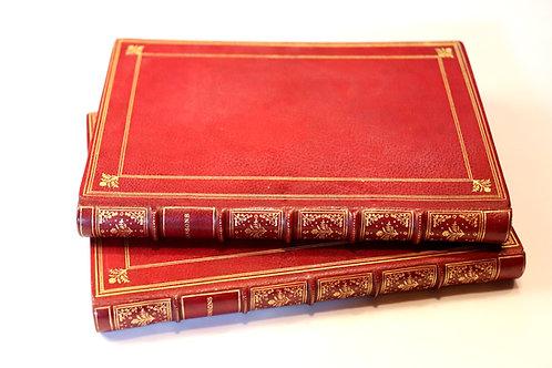 Mouton-Dufraisse. Chansons (1877). Exemplaire de dédicace. Belle reliure.
