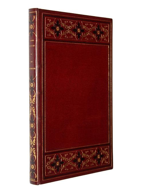 Le Chandelier d'Alfred de Musset illustré par Sylvain Sauvage. Reliure signée